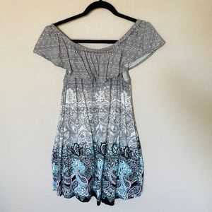 Express Off the Shoulder Tunic or Mini Dress Small